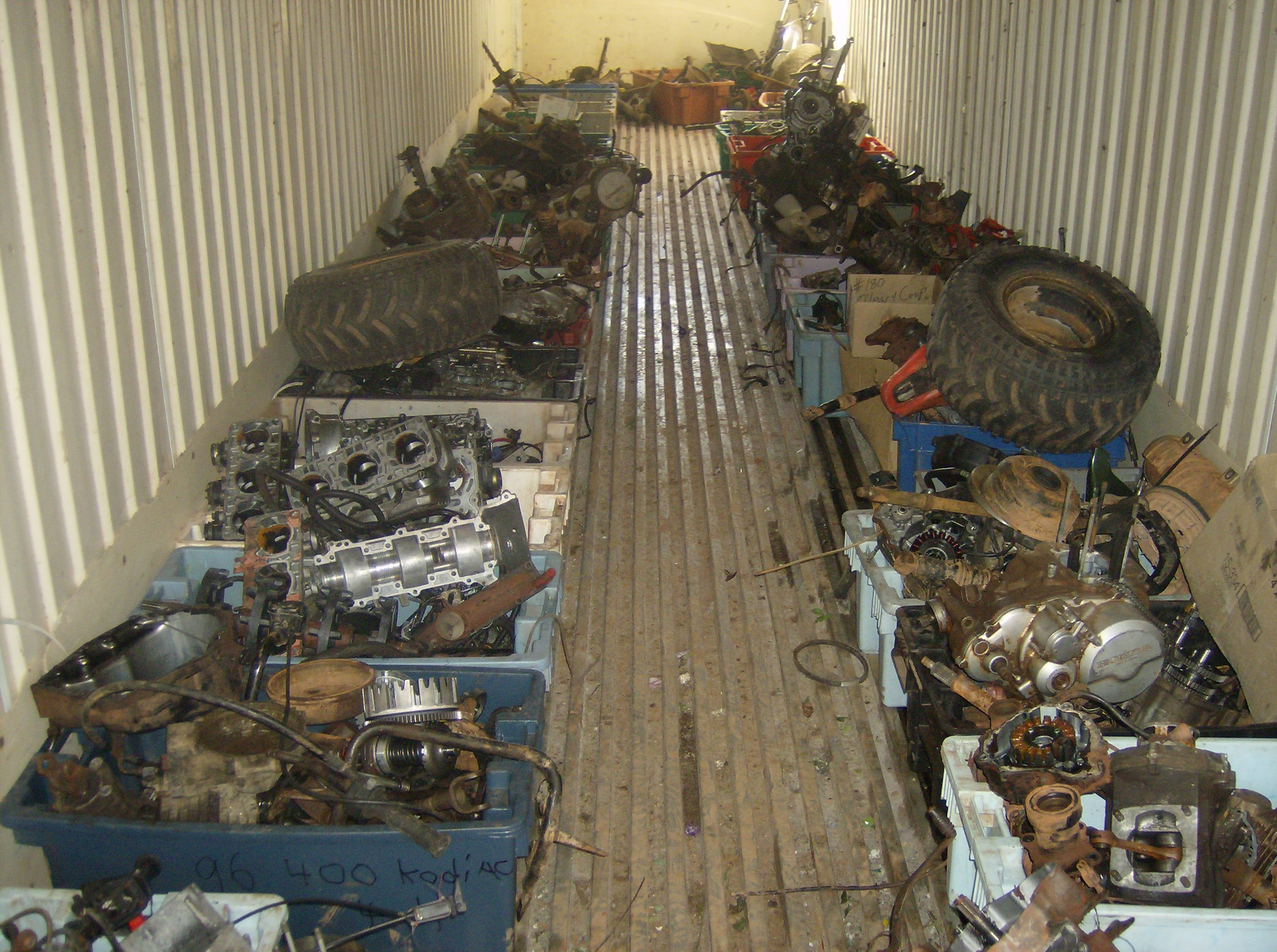 Used Motor Parts